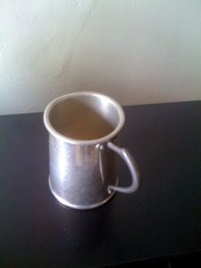 Little metal cup