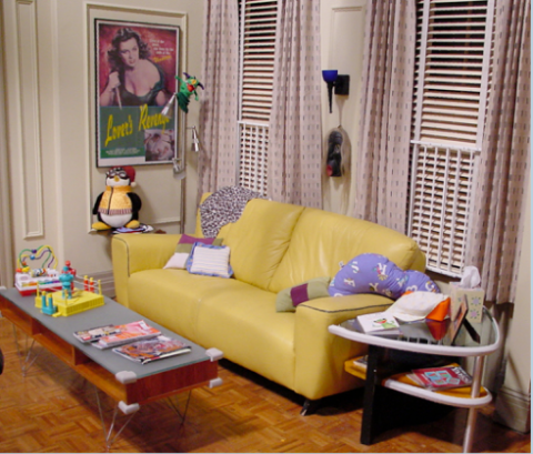 Joey's Apartment (after Rachel has the baby)